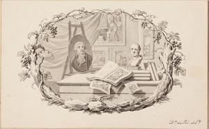 Allegorie op de kunstverzameling van Josephus Ausgustinus Brentano (1753-1821)