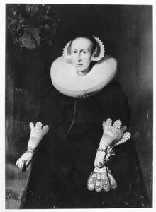 Portret van Anna Hunthum (1597-1639)