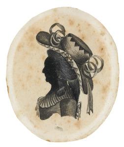 Portret van een vrouw uit de familie Gansneb genaamd Tengnagel
