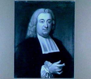 Portret van Friedrich Gottfried Houck (1708-1776), hoogleraar Rechten in Utrecht 1746-1767