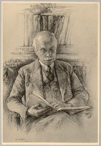 Portret van Christiaan Moes (1879-1964)