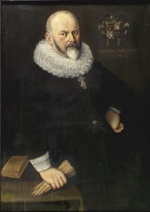 Portret van Cornelis Jansz. Boone (1563-1647)