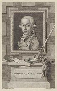 Portret van Leonardus van Zwijndregt (1753-1832)