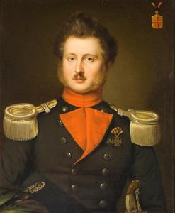 Portret van Jacob Derk Carel Baron van Heeckeren (1809-1875)
