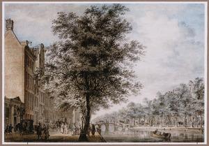 Amsterdam, ingang van de Stadsschouwburg aan de Keizersgracht