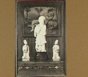 Stilleven met chinese beeldjes