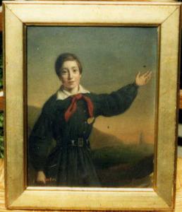 Portret van Johannes Gottlieb Jäger (1829-1884)