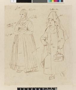 Studie van twee Turkse vrouwen