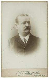 Portret van Friedrich Wilhelm Otto Köhnen (-1899)