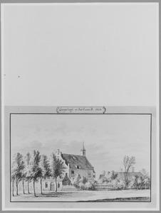 Achter- en linkerzijde van Engelrode bij Zoelmond