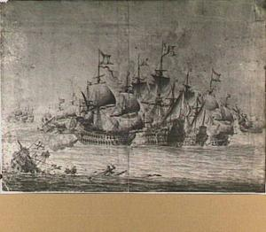 Episode uit de vierdaagse zeeslag, 1666