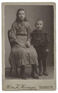 Portret van Trijntje van d. Weg en Sipke van d. Weg