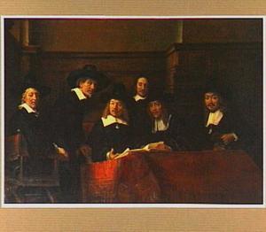 Portret van de waardijns van het Amsterdamse lakenbereidersgilde