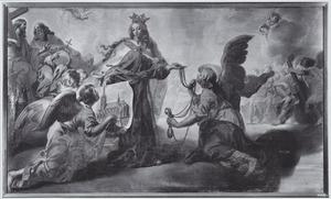 De legende van de O.L.V Kerk te Alsemberg: De H. Elisabeth geeft opdracht om de kerk te Alsemberg te bouwen in opdracht van de H. Maagd