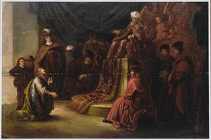 Jozef stelt farao zijn vader Israel voor (Genesis 47:7)