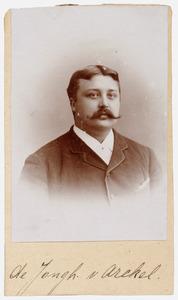 Portret van Zegerius Theodorus de Jongh van Arkel (1872- )
