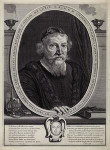 Portret van Stephanus Crachtius (1570-1653)
