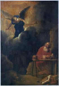 Hiëronymus en de engel