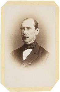Portret van Carel Johan Richard Nobel (1820-1885)