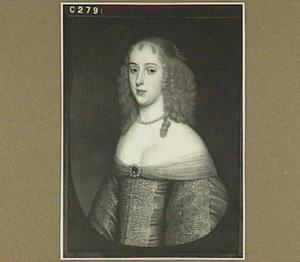 Portret van Elisabeth van Nassau-Beverweerd (....-1718)