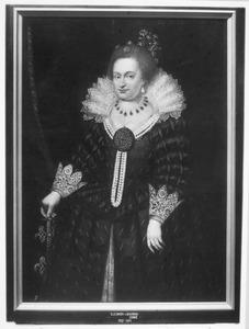 Portret van Eleonora de Bourbon -Conde (1587-1619)
