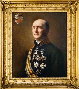 Portret van Alexander Carel Jacob Baron Schimmelpenninck van der Oye (1796-1877)