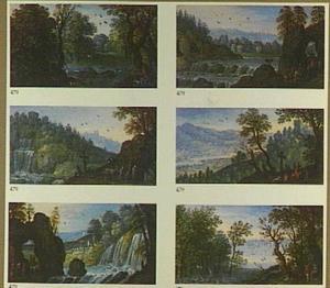 Zes landschapjes