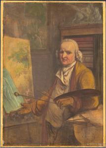 Zelfportret van Jurriaan Andriessen (1742-1819)