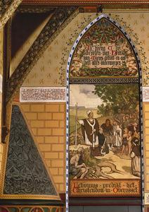 Lebuinis predikt het Christendom in Overijssel