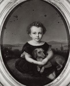 Portret van Jacob Jan Lodewijk van Hangest d' Yvoy (1857-1917)