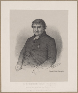 Portret van Johannes Petrus Bruinwold Riedel (1765-1849)