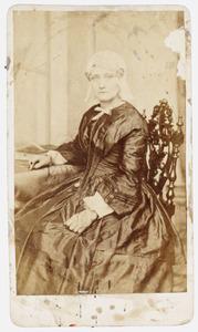 Portret van Yttje Nicholzon (1811- )
