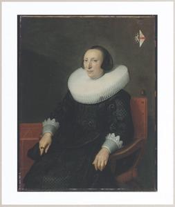Portret van Margaretha van Clootwijck (....-1662)