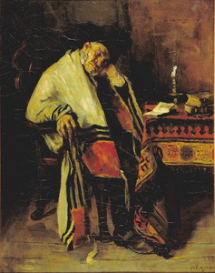 Slapende man met gebedskleed