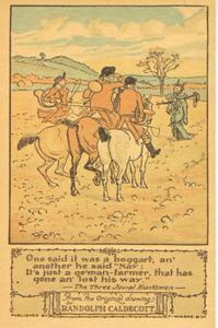' One said it was a boggart...', uit het verhaal The Three Jovial Huntsmen, door William Cowper