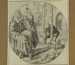De zeven werken van barmhartigheid: het begraven van de doden