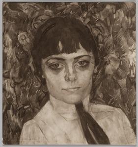 Portret van en jonge vrouw