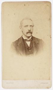 Portret van Petrus Johannes Idenburg (1825-1899)