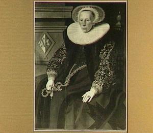 Portret van Stijntje Gerritsdr. Burghertsz (1573-?)