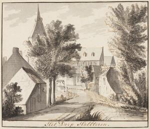 Het dorp Halsteren (?)