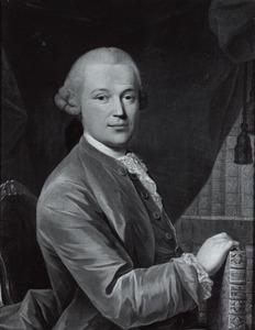 Portret van Abraham Perrenot (1727-1784)