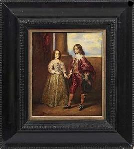 Portret van Willem II van Oranje-Nassau (1626-1650) en Mary I Stuart (1631-1661)