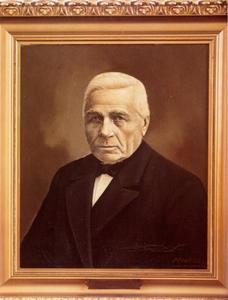 Portret van Nicolaas Adriaan Commandeur (1844-1926)
