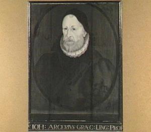 Portret van Johannes Arcerius Theodoretus (1538-1604)