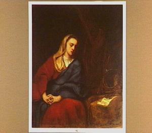 De boetvaardige Maria Magdalena met de Arma Christi