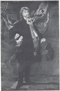 Portret van Laurids Ulfeldt (1605-1659), gouverneur