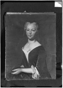 Portret van Margriet van Lynden ( -1761)