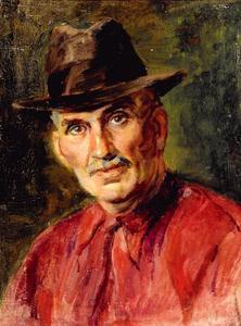 Portret van Frederic Francois Slager (1876-1953)