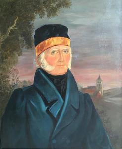 Portret van Jan Willem Gelinck (1765-1841)