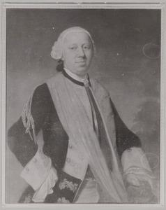 Portret van een man, waarschijnlijk Albrecht Nicolaas van Aerssen Beijeren (1723-1805)